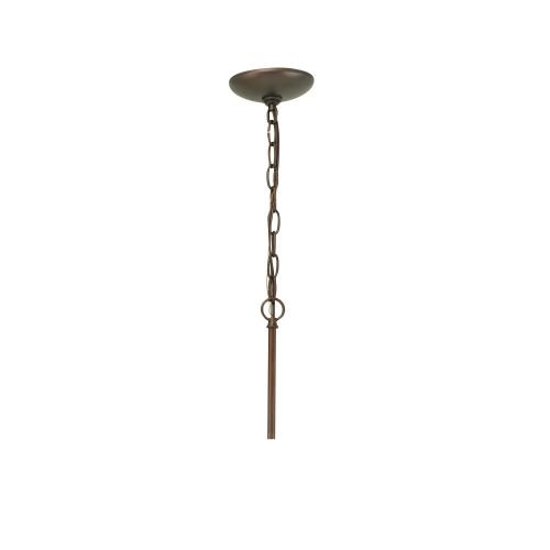 Golden Lighting Accessory CANOPY-4120 RBZ Multi-Family Canopy Conversion Kit with chain, Rubbed Bronze Finish