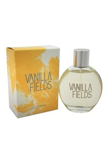 Coty Vanilla Fields Eau de Parfum Spray for Women, 3.3 Ounce