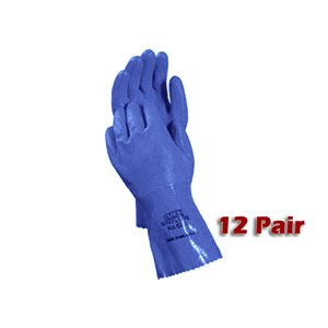 ATLAS 660 Vinylove Vinyl Work Gloves XL 12 Pair NEW