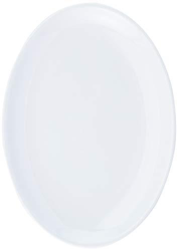 Travessa Oval Slim Guarnição, 28x20cm, Branco, Haus Concept