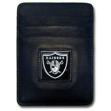 Oakland Raiders Card Holder (Executive NFL Money Clip or Card Holder Oakland Raiders)