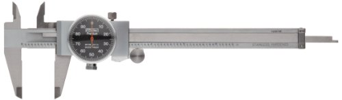 Fowler Full Warranty Stainless Steel Shockproof Dial Caliper, 52-008-707-0, 0-6