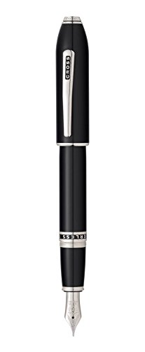 Cross Peerless 125 Obsidian Black Lacquer Fountain Pen AT07061MY