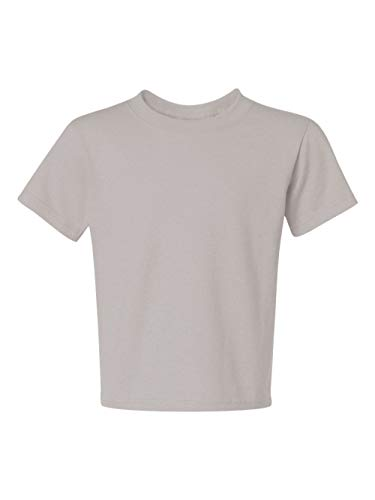 Jerzees Heavyweight Blend Youth Tee (Silver) (L) (Heavyweight Jerzees Blend Youth)
