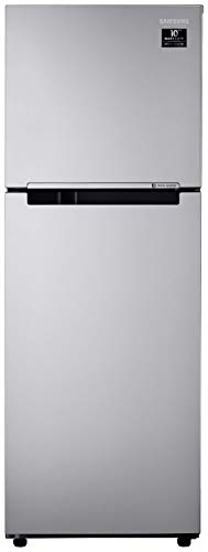 Samsung 253 L 2 Star Inverter Frost Free Double Door Refrigerator  RT28T3022SE/HL, Electric Silver