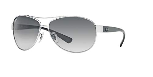 Ray-Ban RB3386 003/8G 63M Silver/Grey Gradient Sunglasses For Men For ()