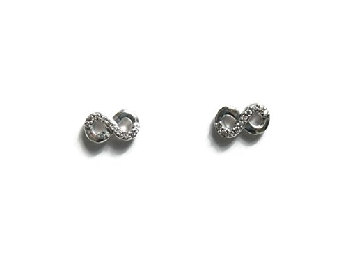Pandora Women's Infinite Love Stud Earrings – 290695CZ