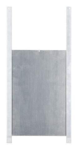Kerbl - Puerta corredera (300 x 400 mm, aluminio)