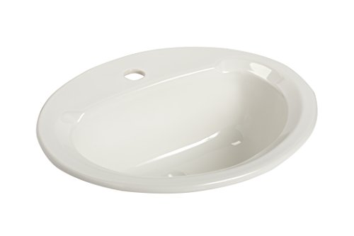Mansfield Plumbing 267-1 Drop-In Bathroom Sink, White