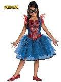 Disguise Marvel Spider-Girl Tutu Prestige Girls Costume, One Color, 4-6X (Spider Girl Costume For Kids)
