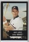 #1: Javy Lopez (Baseball Card) 2003 Bowman Heritage - [Base] - Black Facsimile Signature #159
