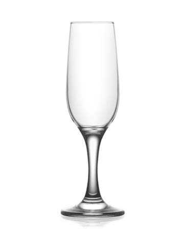 Epure Bellagio Collection 6 Piece Wine Glass Set (Flute (7.25 oz))