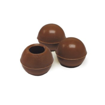 - Belgian Chocolate Hollow Form for making Bon Bon - Truffle Shells Milk Chocolate - Ø25mm - 504 pces