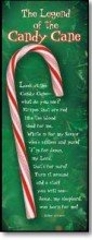 The Legend of the Candy Cane Bookmark 25 Pack