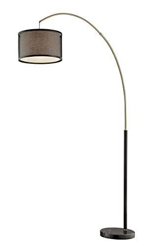 Source Drum Lite - Lite Source Elena Coffee Arc Floor Lamp