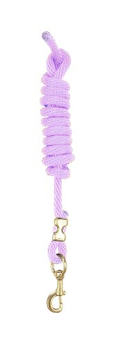 Perri's Poly Nylon Lead with Snap, Orchid, -