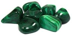 Malachite Tumble Stone (25-30mm) Single Stone