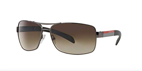 (PRADA SPS 54I Sunglasses SPS54I Bronze 5AV-6S1 Shades)