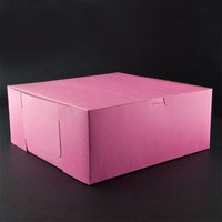 Southern Champion Lot of 25 Bakery or Cake Box PINK 12x12x5