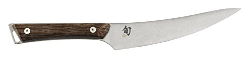 Shun Kanso 6.5-Inch Boning/Fillet Knife; Stainless Steel Blade Handcrafted in Japan; Tagayasan Wood Handle; Tradition Meets Innovation with Every Slice; Optimal Control for Delicate, Precision Cuts