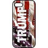 iphone 5 5s case - President Donald Trump American Flag - Make America Great Again - Republican Party 2016 - Black Plastic iphone case