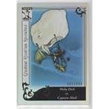 Moby Dick vs. Captain Ahab #61/399 (Baseball Card) 2010 Topps Tribute - [Base] - Blue #GR-93