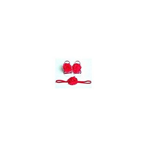 Conjunto couvres patas + diadema assortit modelo rosa Simple fucsia Talla:talla única fucsia