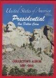 U.S. Presidential Coin Album Folder 2007 - 2016 (No Coins) - Dollar Coin
