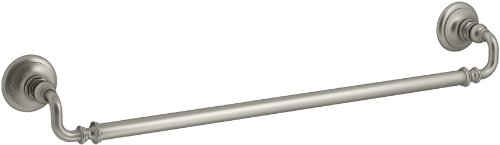 KOHLER K-72568-BN Artifacts 24 In. Towel bar, Vibrant Brushed Nickel