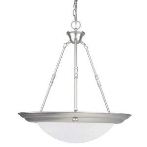 Luminance 3-Light Bowl Pendant-Satin Nickel ()