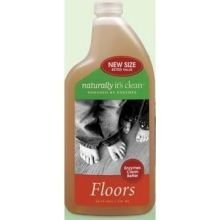 Naturally Its Clean Floors cleaner, 24 Ounce - 6 per case.
