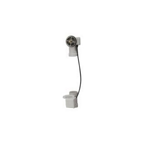 Geberit 151.506.00.1 17-24-Inch Tub Depth TurnControl Cable-Operated Bath Waste and Overflow Bathtub Drain by Geberit