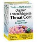 Traditional Medicinals Traditional Coat (Traditional Medicinals Tea Throat Coat Lemon)