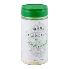 Store Parmesan Cheese (MAMA FRANCESCA GRATED CHEESE CLASSIC PARMESAN 8 OZ)