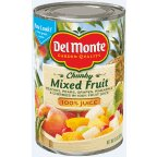 Del Chunky Mixed Fruit 15OZ (Pack of 24)
