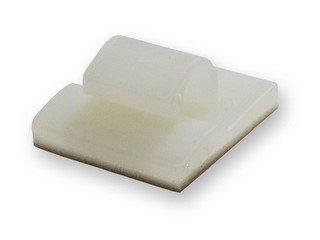 3/16 Inch Adhesive Backed Clamp Natural Bundle Diameter-50Pack