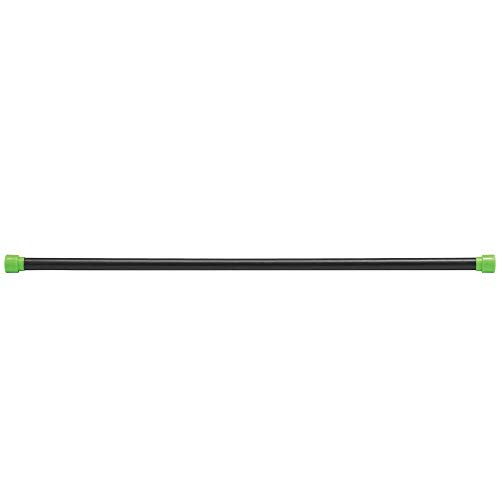 Body-Solid Tools Weighted Bar, 12 Pounds, Green ()
