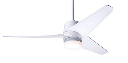 Modern Fan Company Velo DC Gloss White 48