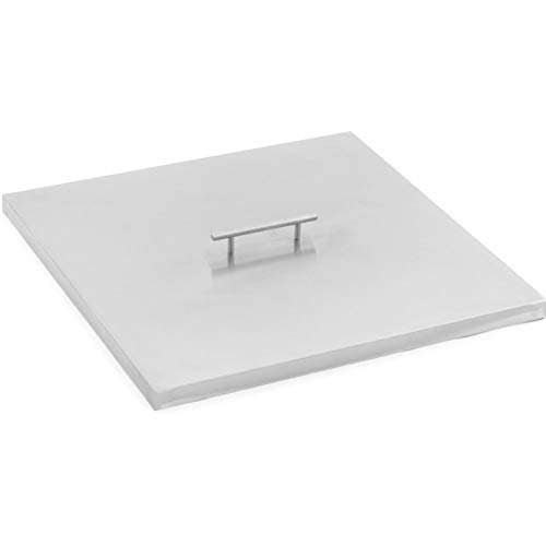 Lakeview Outdoor Designs 21-inch Stainless Steel Burner Lid - Fits 18-inch Square Fire Pit ()