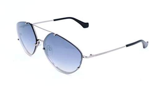 Balenciaga BA0085 Light Ruthenium Metal/Black Temple Tip/Gradient Smoke Lenses One Size
