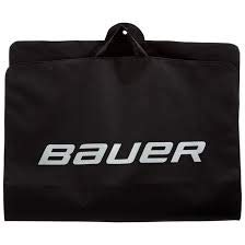 Bauer Hockey Individual Garment Bag, Black (Bauer Hockey Shirt With Neck Guard Youth)