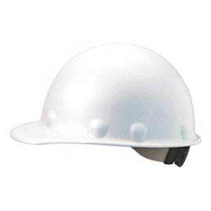 fibre-metal Roughneck tapón blanco fibra de vidrio estilo Hard Hat ...