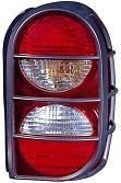 Jeep Liberty Replacement Tail Light Unit (with Air Dam) - Passenger Side