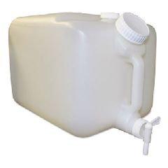 Gallon Container Plastic 5 - Impact 7576 E-Z Fill Container, 5 Gallon Capacity, 16
