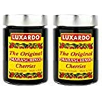 Luxardo Gourmet Maraschino Cherries - 400g Jar - PACK OF 6