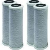 CFS SpectraPure (R.O. Filters) Compatible Carbon Block Filter Cartridge, 1 Micron, 4 Pack ()