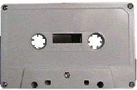 25PK - NRS HIGH ENERGY C-64min. Blank Bulk Normal Bias Cassettes*WHITE by NRS