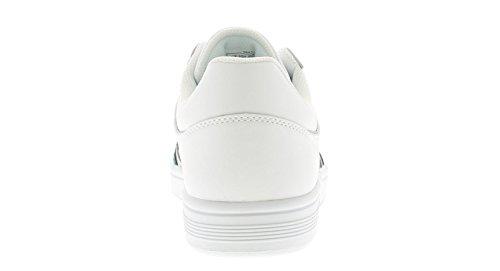 K-Swiss de Salón Cheswick Cuero Zapatillas Hombre Blanco - Blanco - GB Sizes 7-12