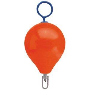 Polyform Mooring Buoy - Polyform Mooring Buoy w/Iron 13.5 Diameter - Red