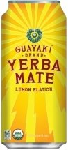Guayaki yerba mate - lemon elation - 16oz. (pack of 8) 1 8 pack - 16oz. Cans organic, kosher, fair trade, non gmo check out the energy drink outlet's selection of energy drinks!